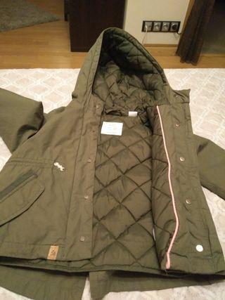 parka, plumas, chaqueta