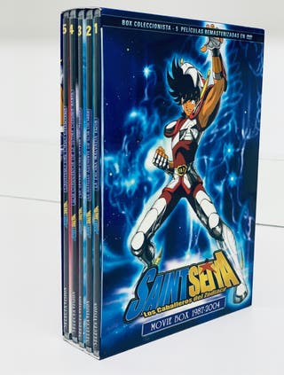 Saint Seiya Movie Box 1989 - 2004