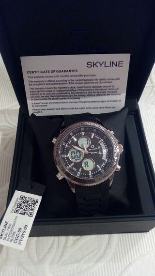 Reloj Skyline Dual Time, nuevo a estrenar