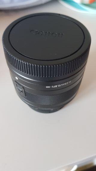 Objetivo Canon EF-M 15-45mm