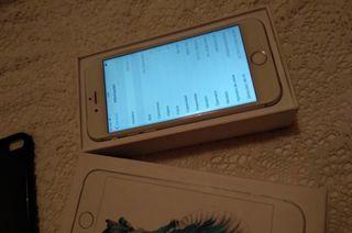 IPHONE 6s 64G BLANCO LIBRE!!