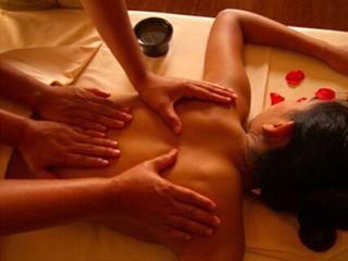 masaje 4 manos