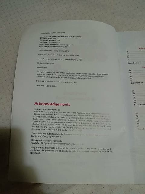 On Screen, Workbook & Grammar Book bachillerato