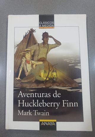 AVENTURAS DE HUCKLEBERRY FINN - MARK TWAIN LIBRO