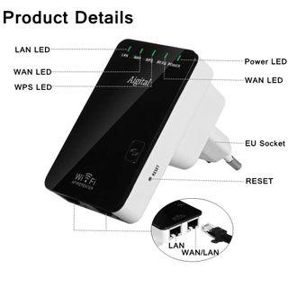 Repetidor Wifi Marca >> Aigital (Nuevo de fábrica)