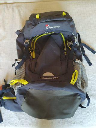 Mochila de montaña senderismo/camping 50 Litros