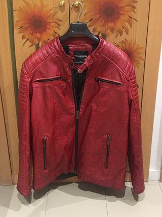 Chaqueta moto roja talla 56