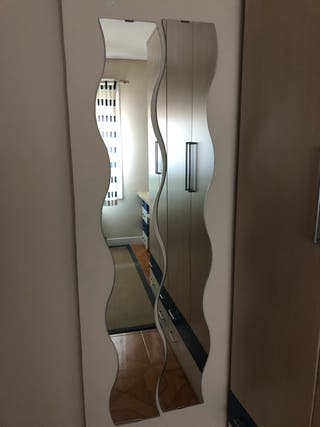Espejos IKEA curvas