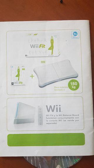 Vendo juego Wii + Wii Balance Board