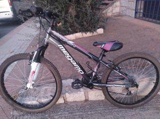 bicicleta de montaña megamo 24 pulgadas