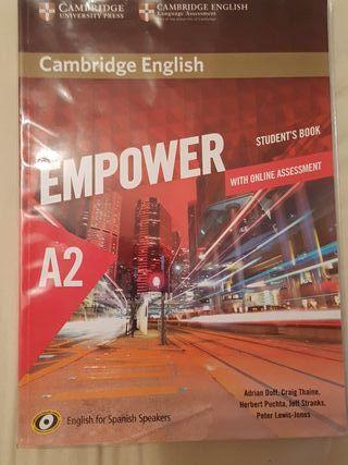 Libro de texto de Inglés Empower nivel A2