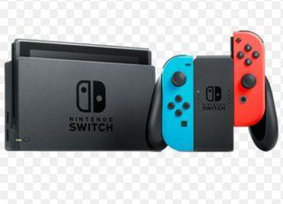 nintendo switch y juego 1,2 switch