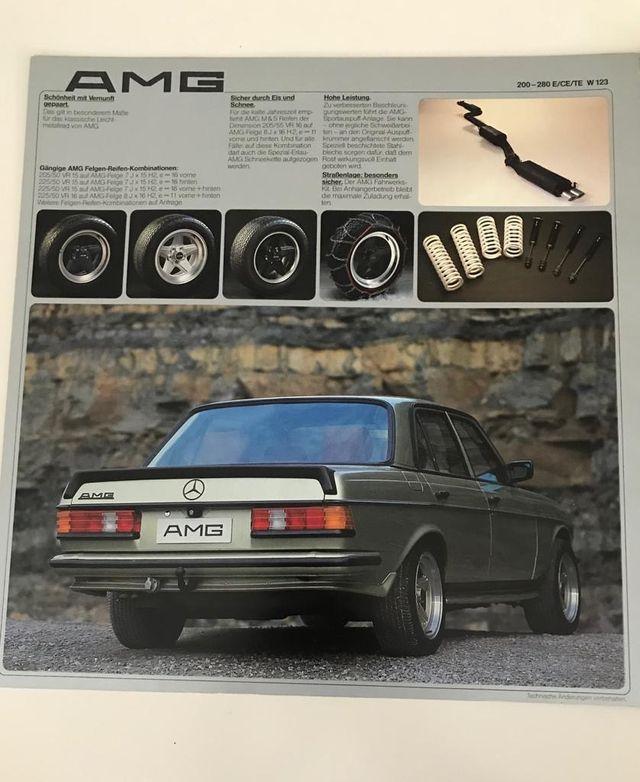 Mercedes-Benz 280E AMG 1979
