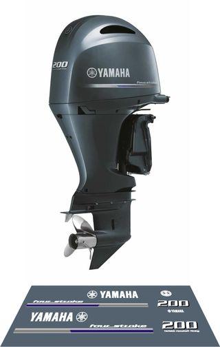 Adhesivos motores YAMAHA