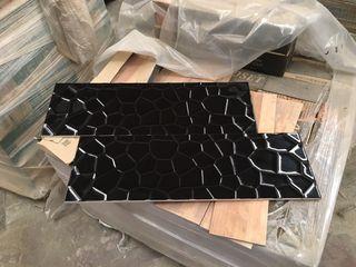 Azulejo honey negro 25x75 (con tara)