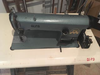 Máquina de coser en perfecto estado
