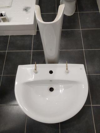 lavabo roca+pie