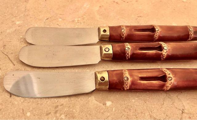 3 couteaux à beurre Vintage 60's Charente-Poitou