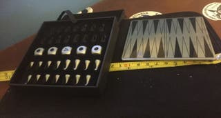 Backgammon de acero