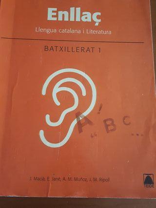 libro llegua catalana 1o bachillerato