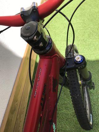 Bicicleta Montaña Orbea Rallon X Doble Suspensión