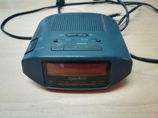 Radio - reloj despertador