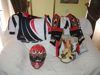 ropa moto, quad campo