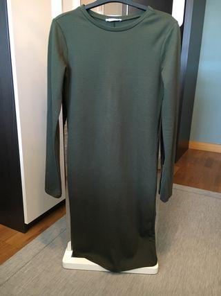Vestido algodón Zara