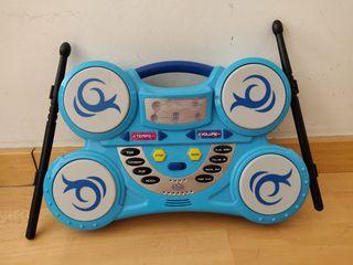 Bateria electrónica para niños