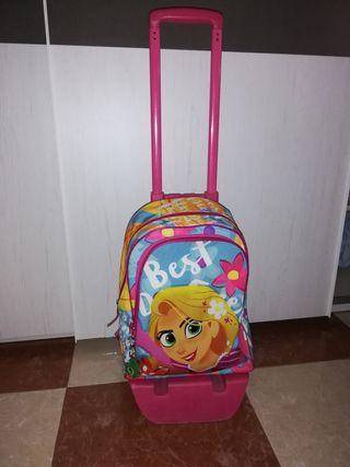 mochila con carro