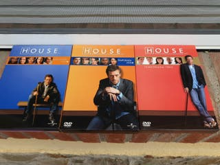DVD serie House 3 temporadas