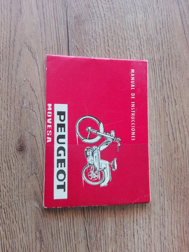 ciclomotor peugeot moves 49 BB