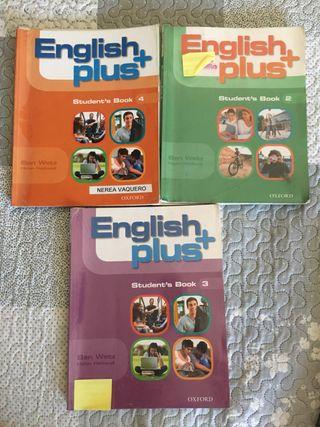 Libros ingles English Plus ESO OXFORD