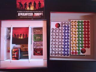 juego de mesa, Amanecer zombi, interactivo.