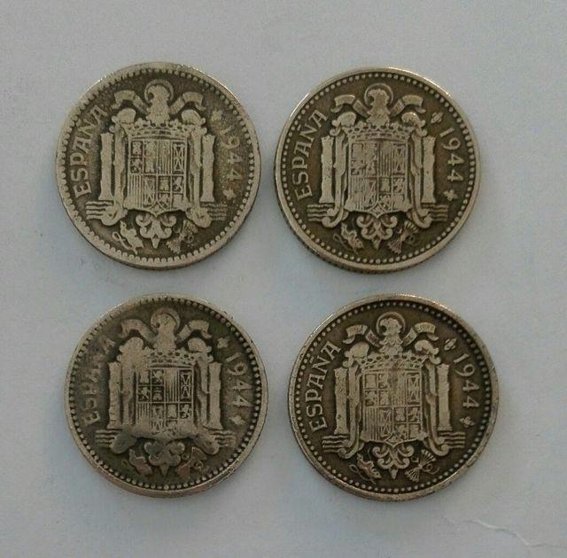 moneda 1 peseta 1944