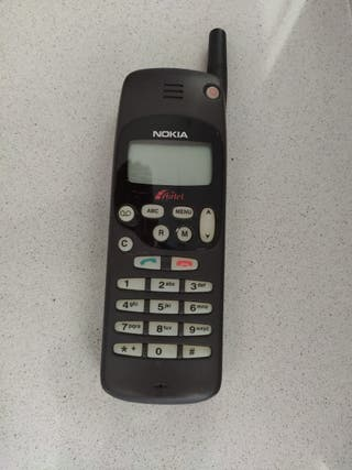 Antiguo teléfono móvil Nokia NHE-5NX