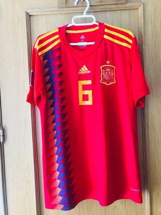 Camiseta de fútbol España