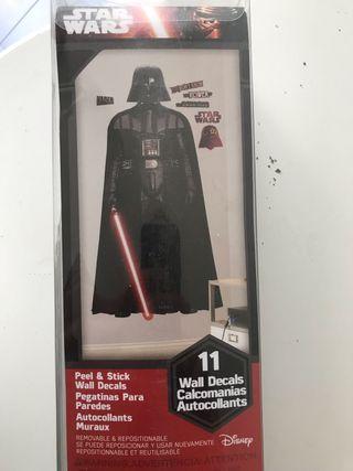 Poster Pegatinas Gigantes vinilo Star Wars