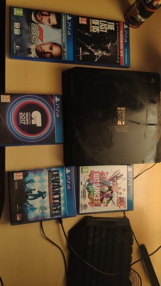 PlayStation 4, 1Tb, edición ff xv