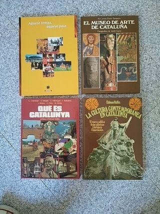 Libros varios historia Catalunya