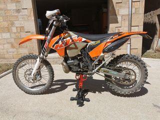 KTM exc 250 2012