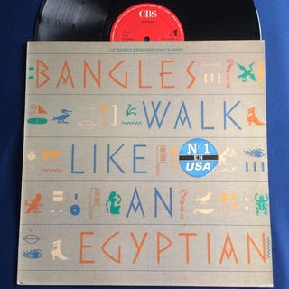 DISCO VINILO BANGLES WALK LIKE AN EGYPCIAN MAXI