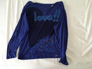 Camiseta/Blusa azul Desigual