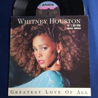DISCO VINILO WHITNEY HOUSTON GREATEST LOVE MAXI