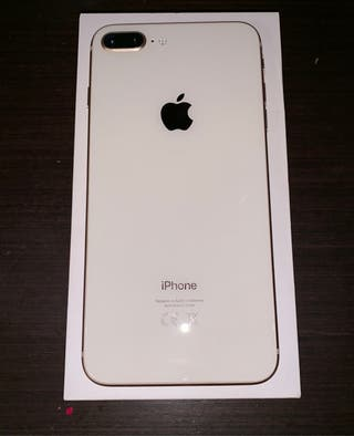 iPhone 8 Plus 64 gb plata