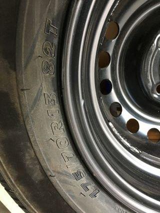 Vendo rueda nueva con llanta 175-70-R13