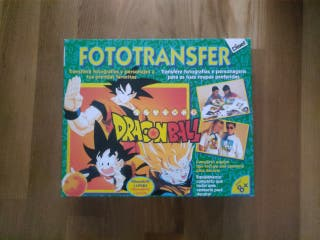 FotoTransfer Dragon Ball imprime en tu camiseta
