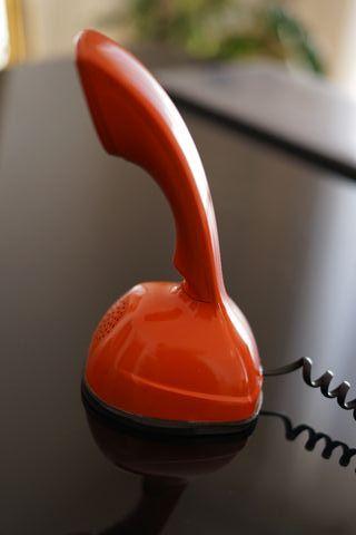 Teléfono sueco retro Ericofon 1940's