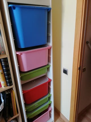 Estantería de contenedores de juguetes TROFAST