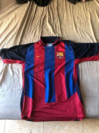 Camiseta FCB Nueva firmada por Leo Messi
